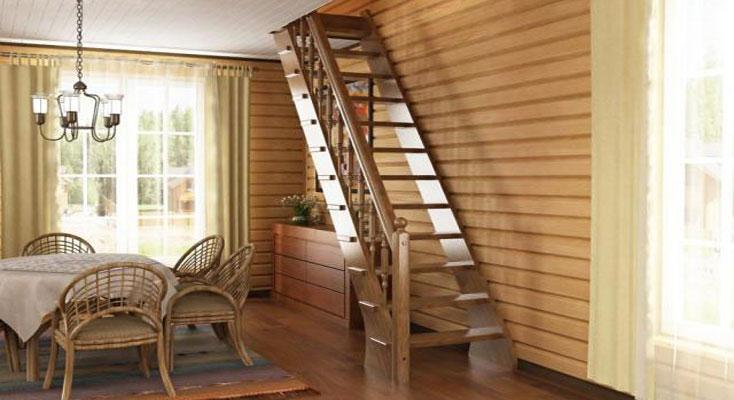 Фото лестница на второй этаж своими руками